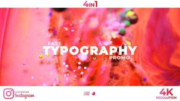 Stomp Typography Promo - Videohive -  27011691