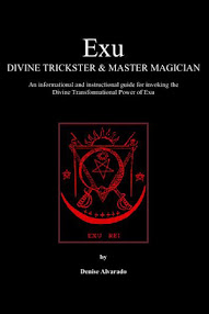 Cover of Denise Alvarado's Book Exu, Divine Trickster and Master Magician
