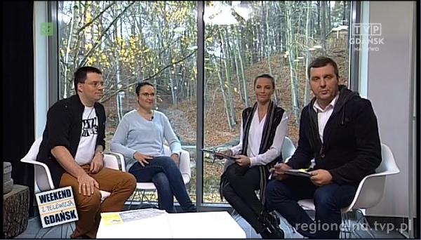 Kasia i Maciej Marczewscy w TVP Gdansk