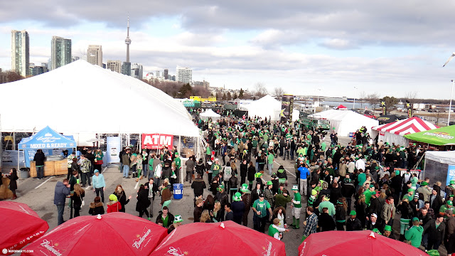 st. party's day in toronto in Toronto, Ontario, Canada