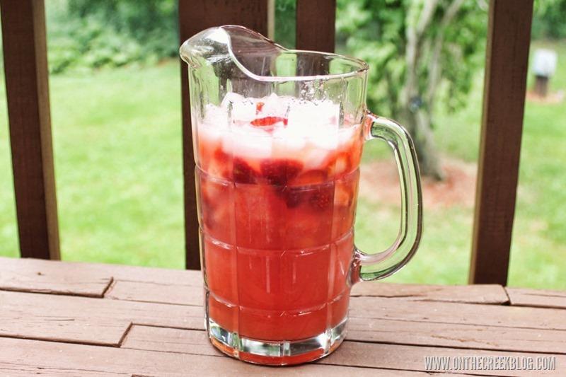 Nonalcoholic Watermelon Sangria