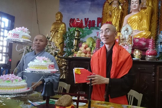 Khóa tu an lạc một ngày tại chùa Vạn Phúc6