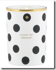 Kate Spade White Willow Scented Candle
