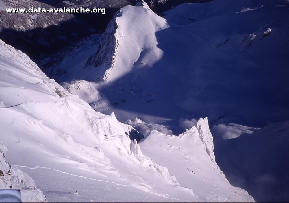 Avalanche Mont Thabor, secteur Grand Argentier, Couloir Nord - Photo 1 - © Duclos Alain
