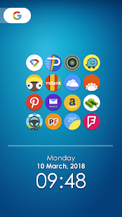 Pie 9 - Icon Pack Screenshot