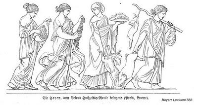 The Horae, Gods And Goddesses 7