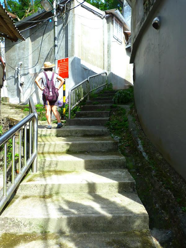 Taipei. Si Shou shan, en plein coeur de Taipei. Accès par un chemin bien plus sauvage. - P1240811.JPG