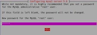 Imagem exemplo da instalação MySQL