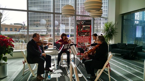 NJSO Chamber Ensemble; photo by Joanna Borowski