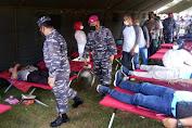 Batayon Infanteri 8 Marinir Tangkahan Lagan Langkat Gelar Vaksinasi