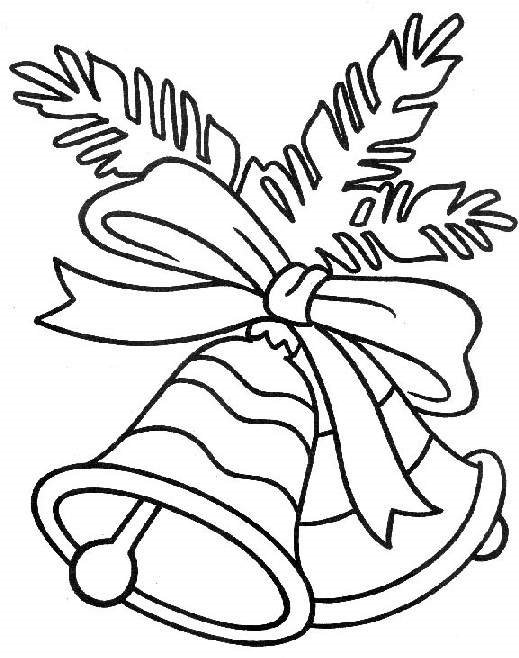 Jingle bell coloring pages