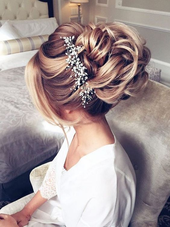 Hairstyles-Gorgeous Wedding Forٍ Chic Bride On Class World 7