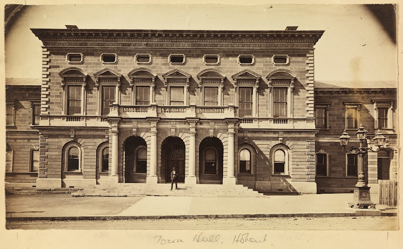 1900 Photograph - Town Hall, Hobart