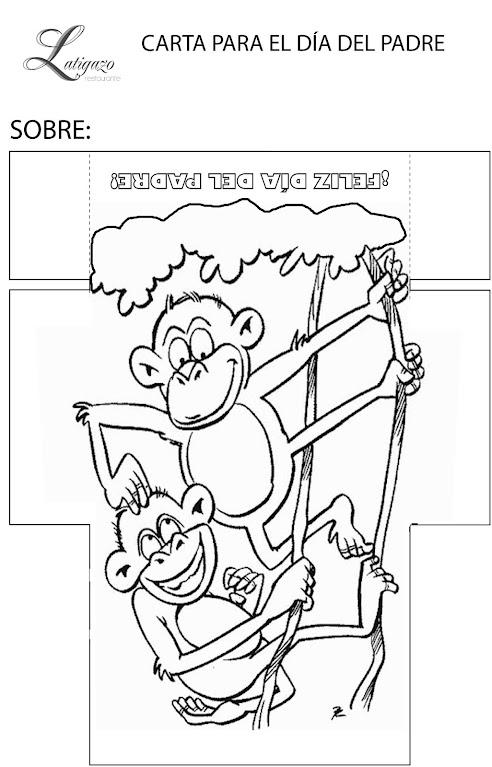 mono día padre