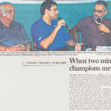 Report in Deccan Chronicle