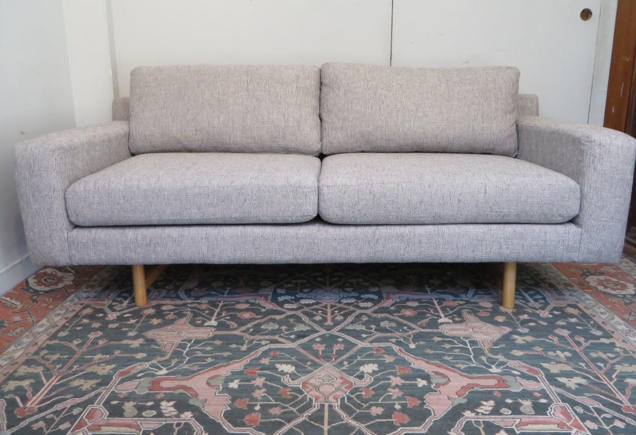 West Elm Tweed Sofa