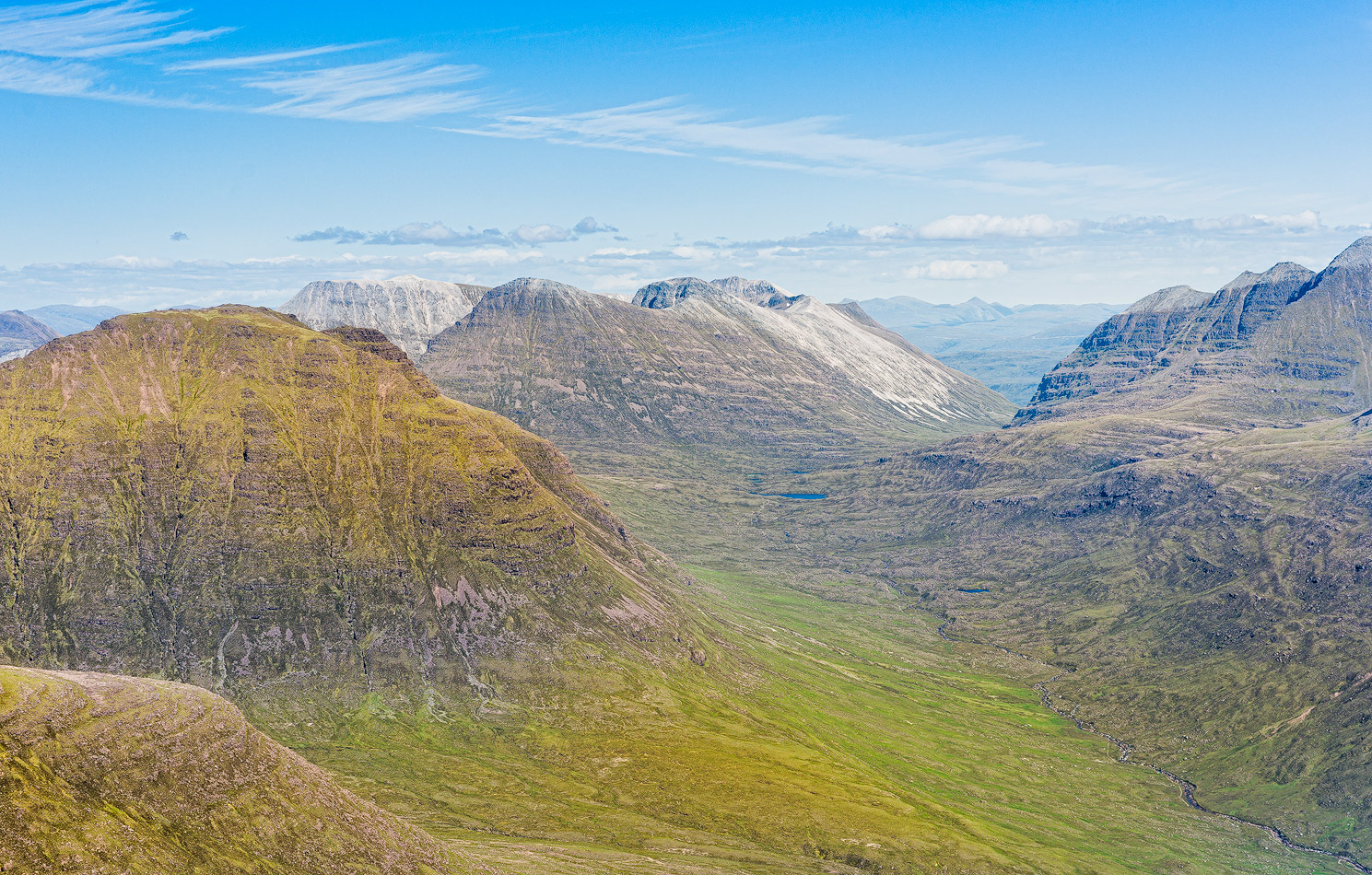 Torridon mountains in North West of Scotland