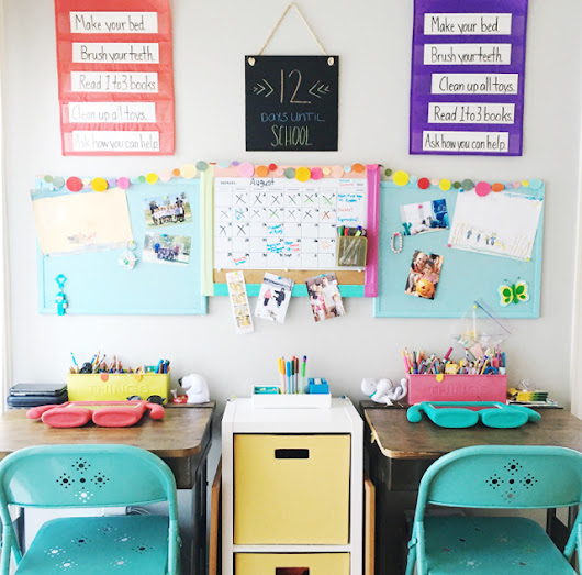 kid's school space | buddy + babe