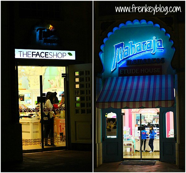 """The Face Shop"" dan ""Etude Shop"" di Everland"