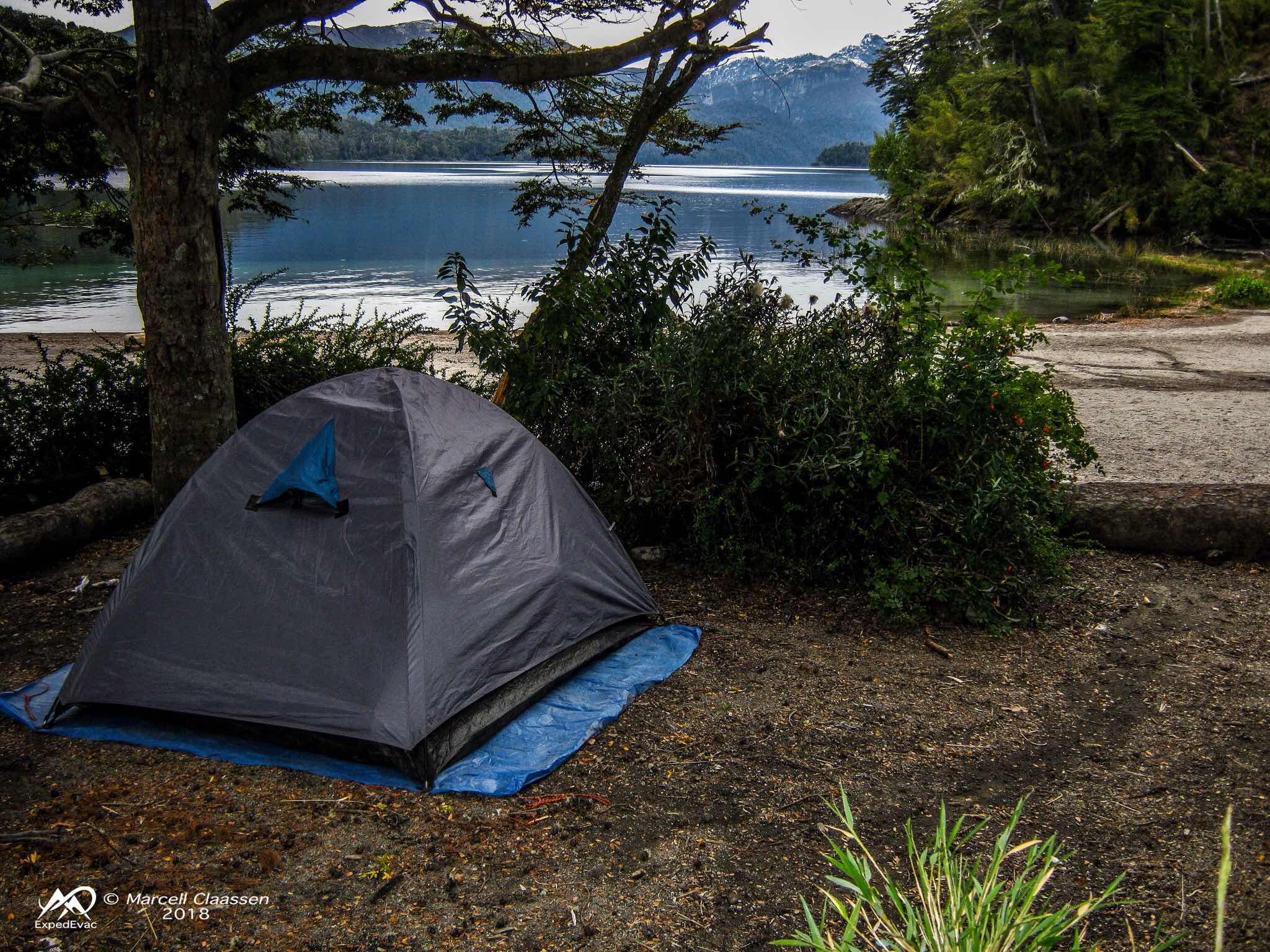 Lago Espejo tent