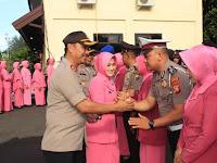 *26 Personel Polres Kepulauan Selayar Naik Pangkat di penghujung tahun 2019*