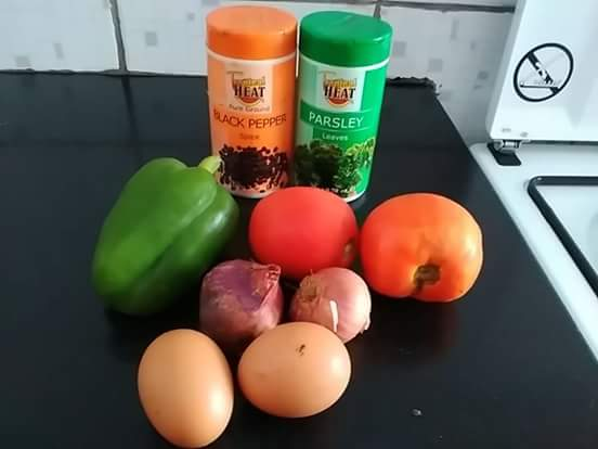 Omelette recipe ingredients