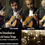 No fue un Concierto Extraordinario... fue un lujo. La guitarra que tiene Tárrega en la foto, es la misma que escuchamos en las manos de Jorge Orozco.