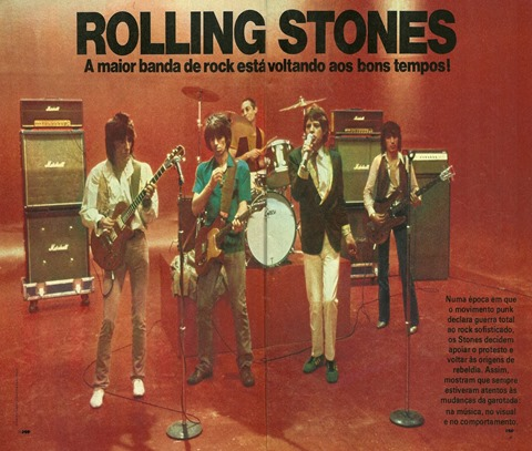 Rolling Stones, A maior banda do rock está voltando aos bons tempos - Pop 1978-10 - 01