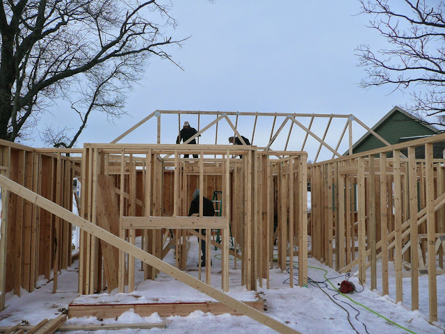 Building of new home in Waukesha, WI - P1030402.JPG