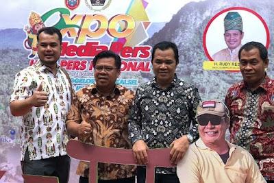 Rasakan Suasana HPN, DPRD Pulpis Kunjungi Expo Media Pers