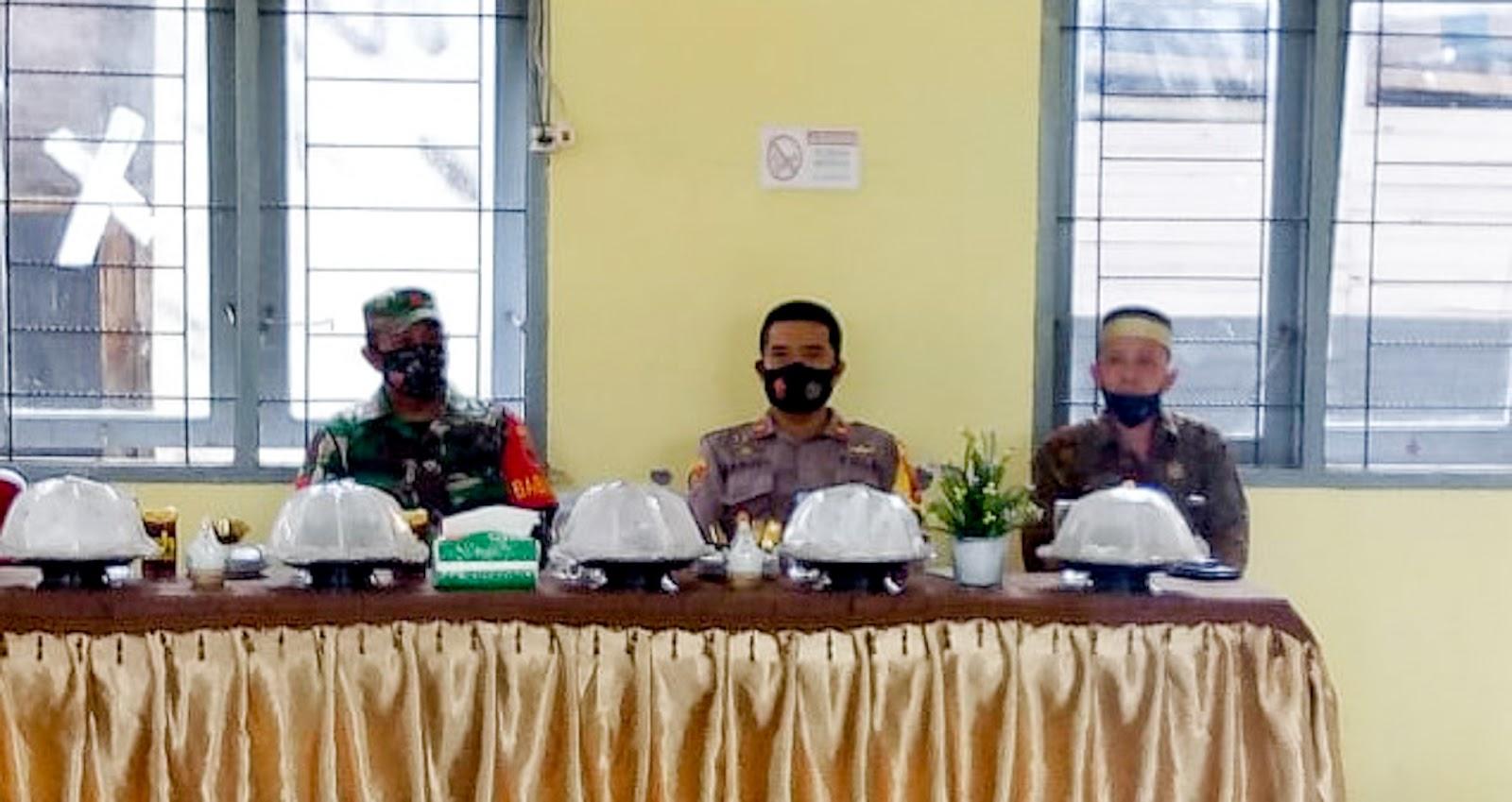 Kunjungan Kerja Pjs Bupati Soppeng dihadiri Kapolsek Donri Donri