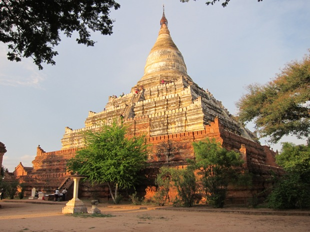Shwesandaw In the Afternoon Sun