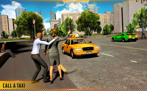 HQ Taxi Driving 3D 1.5 screenshots 12