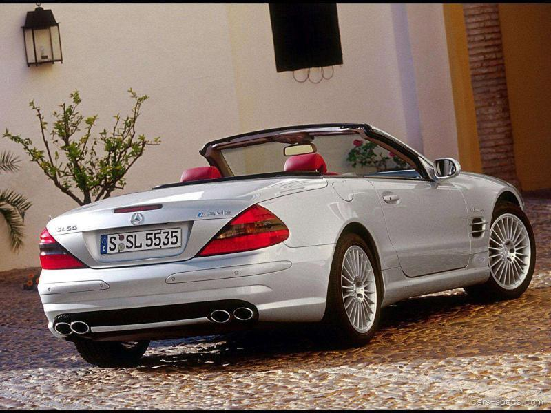 2004 mercedes benz sl class sl55 amg specifications pictures prices. Black Bedroom Furniture Sets. Home Design Ideas