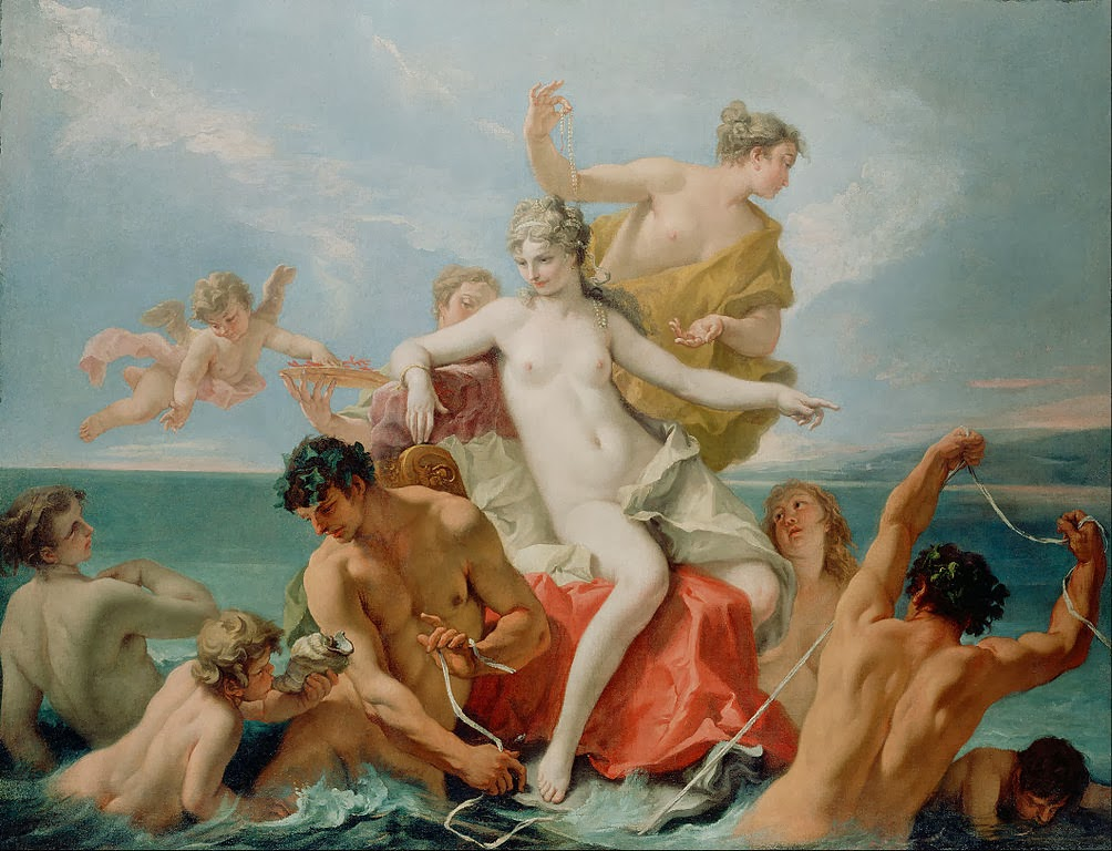 Sebastiano Ricci - Triumph of the Marine Venus - Google Art Project