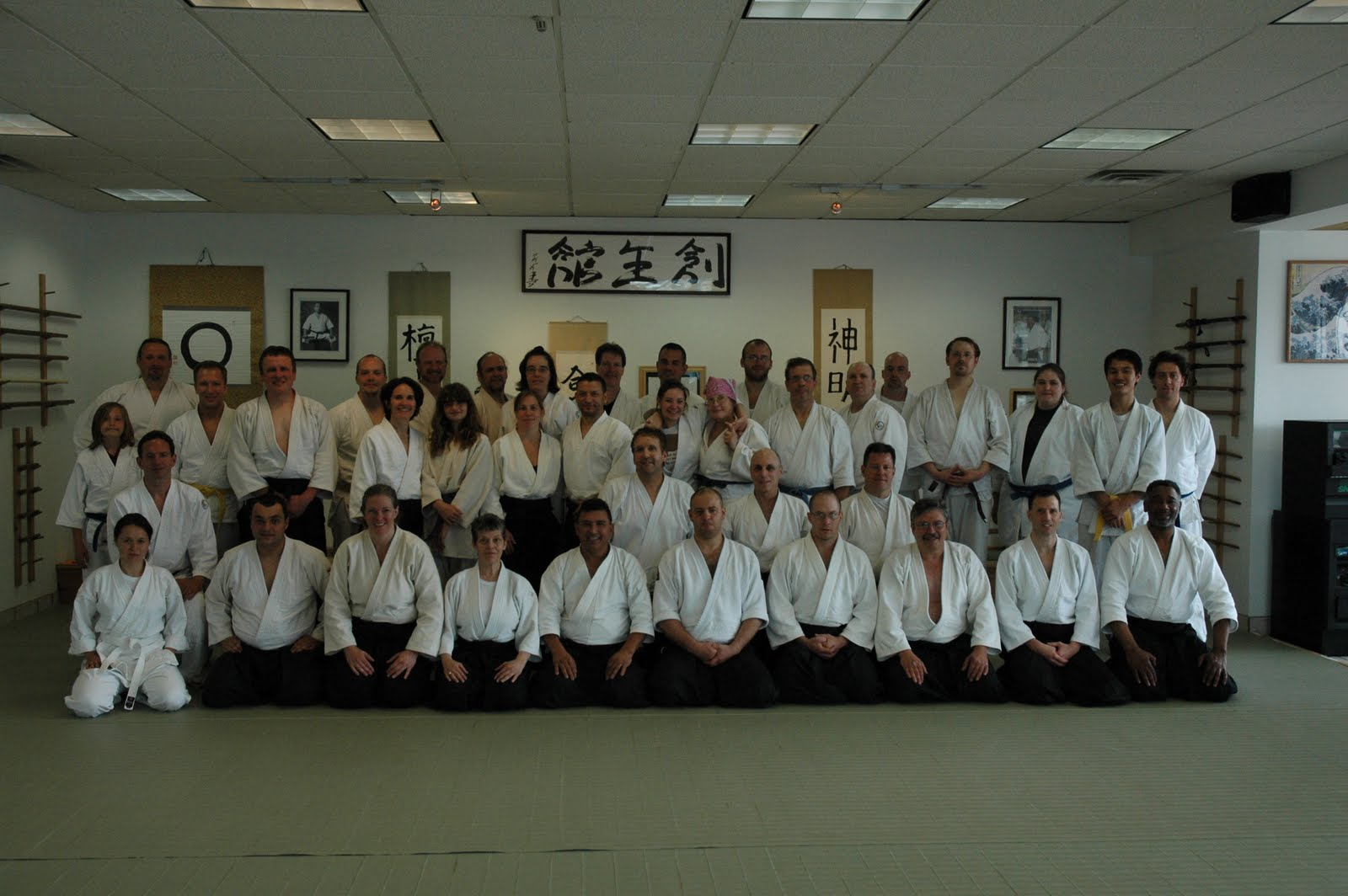 "Sosei Aikido Kyokai nfp, A Center for the Martial Arts – Soseikan Dojo welcomed back Ed Germanov Sensei (Godan), Chief Instructor of Tendokan International to our Seminar Series, ""In the Foot Steps of Shihan"". This is a seminar series by the Students of Fumio Toyoda Shihan, held the weekend of Fri. June 4th, through Sun. June 6th, 2010."