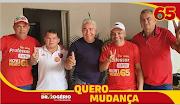 Irmão Rivaldo, candidato a vice-prefeito na chapa com Henrique Muniz, declara apoio a Dr.Rogério.