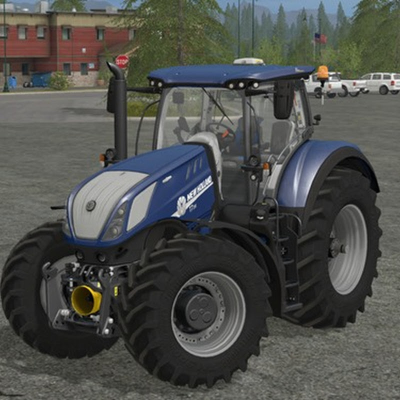 Farmin simulator 2017 - New Holland T7 Heavy Duty Blue Power V 1.0