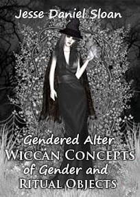 Cover of Jesse Daniel Sloan's Book Gendered Alter Wiccan Concepts of Gender and Ritual Objects