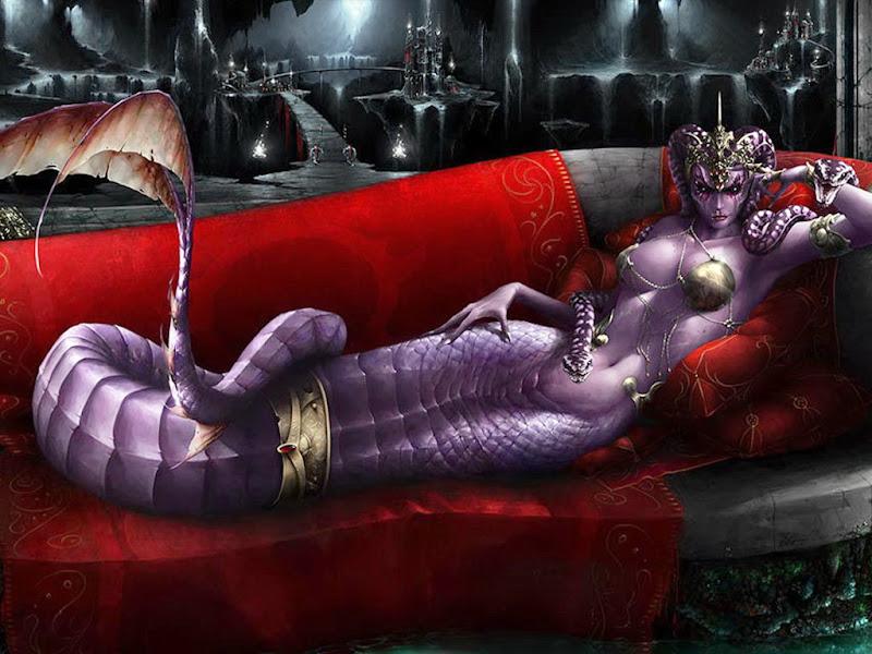 Snake Demoness, Demonesses