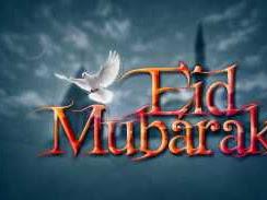 Happy Eid Mubarak to our Muslim Fans