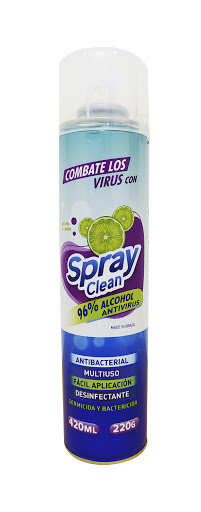 desinfectante spray clean aerosol limón 420 ml