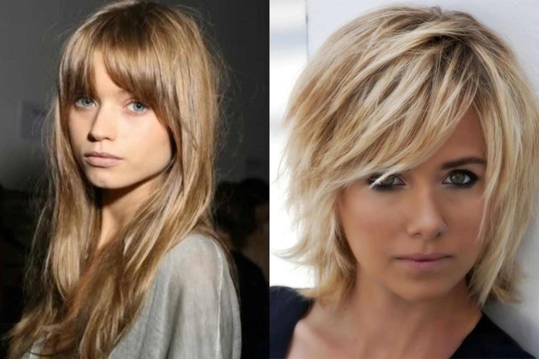2018 Long Bangs Hairstyles For Women's - Haircuts Bangs 4