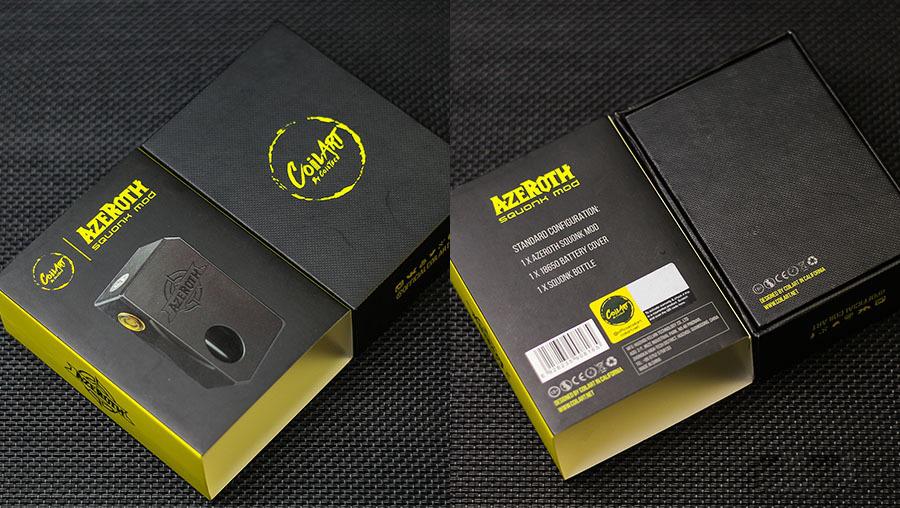 CoilART Azeroth Box Mod 21