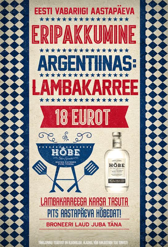 argentiina restoran päevapraad