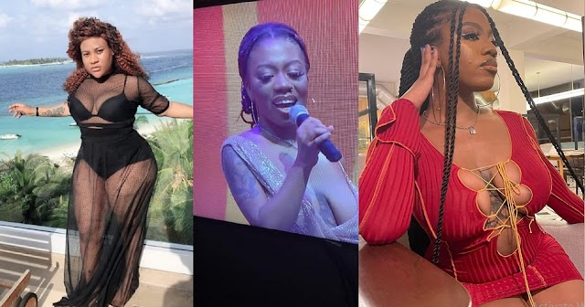 Nkechi Blessing blasts those body-shaming BBNaija Angel over her saggy B00bs