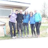 con 3 ragazze cilene nel primo entusiasmante viaggio in bici