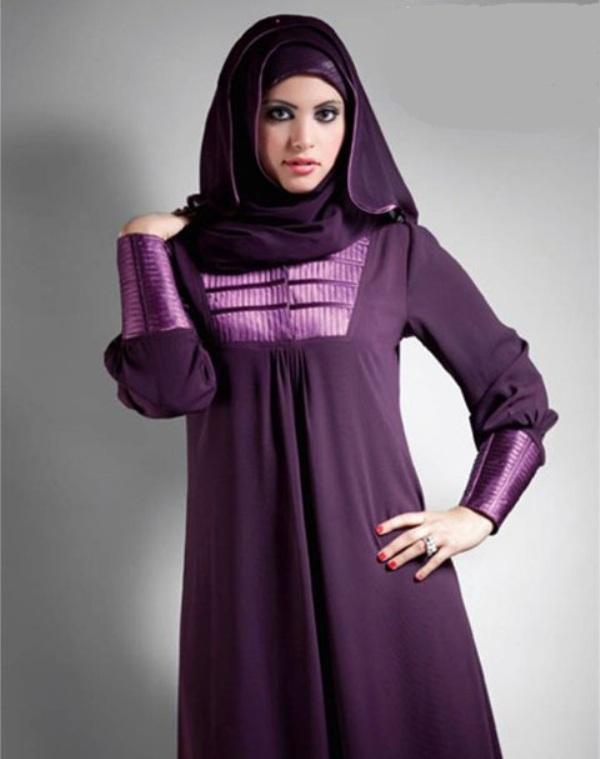 Latest Dubai Hijab Styles For Women 2016 Fashionte