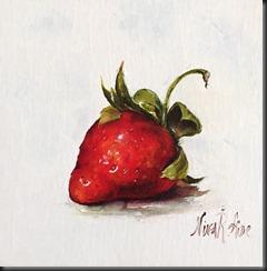 Strawberry with Fancy Stem