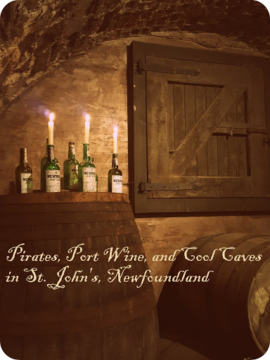 Pirates, Port Wine, and Cool Caves at Newman's Wine Vaults in St. John's, Newfoundland